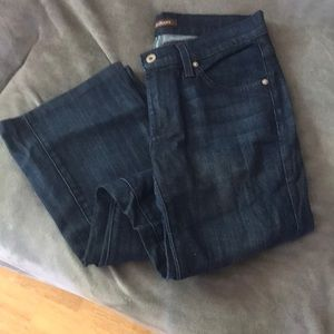 James jeans size 27 dark wash boot cut